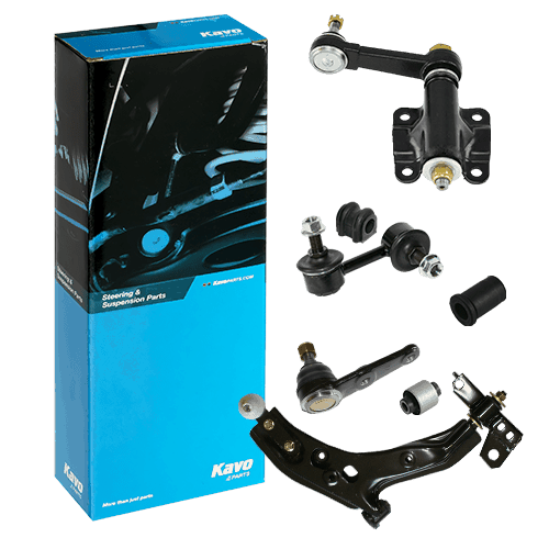 Suspension parts and rubber parts