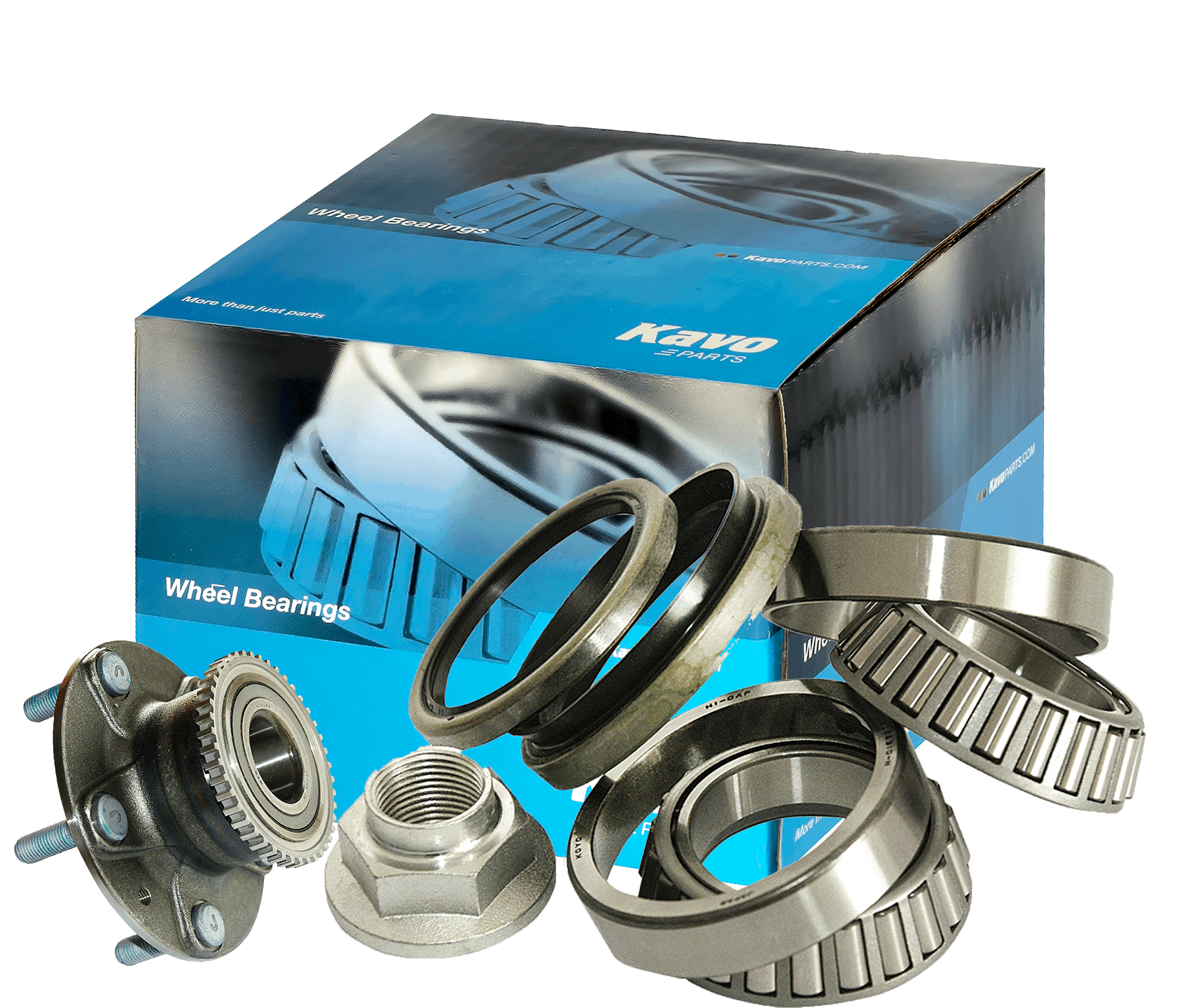 Wheel bearings and wheel bearing hubs