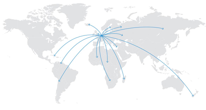 Car parts Supplier worldwide